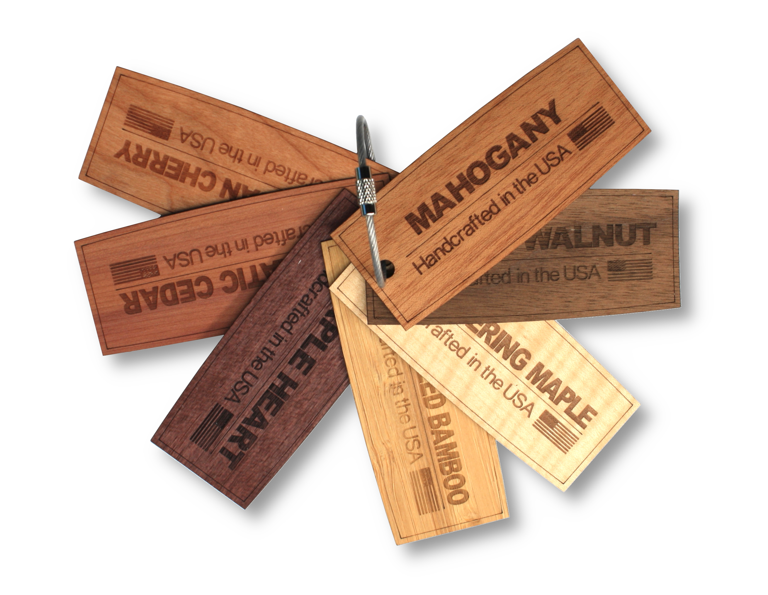 Free wood swatch for distributors